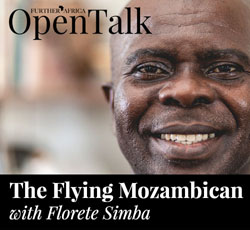 The Flying Mozambican, with Florete Simba
