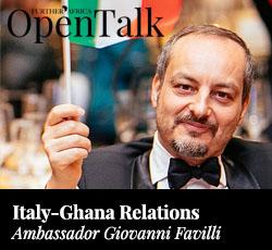 Italy-Ghana relations - Giovanni Favilli