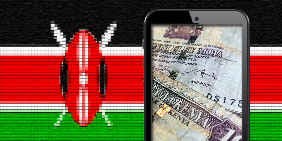Kenya mobile money transactions
