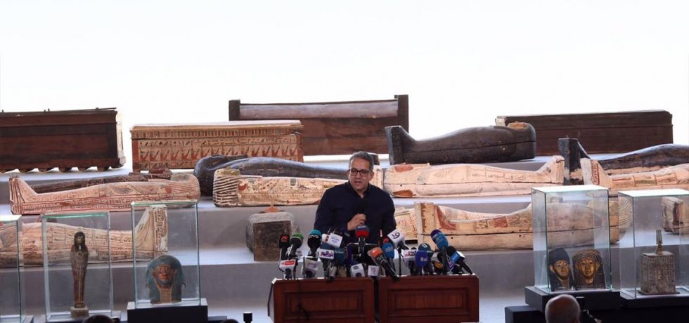 Egypt Saqqara archaeological discovery