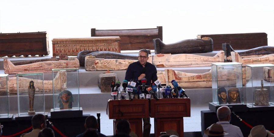 Egypt Saqqara archaeological discovery