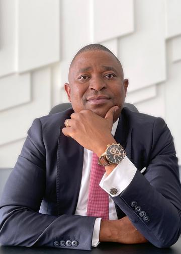 Tomás Matola, CEO of Mozambique BNI - Banco Nacional de Investimento